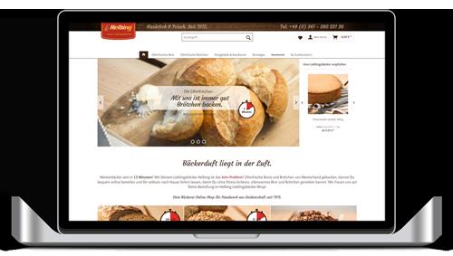 Zum Helbing Bäckerei Online Shop